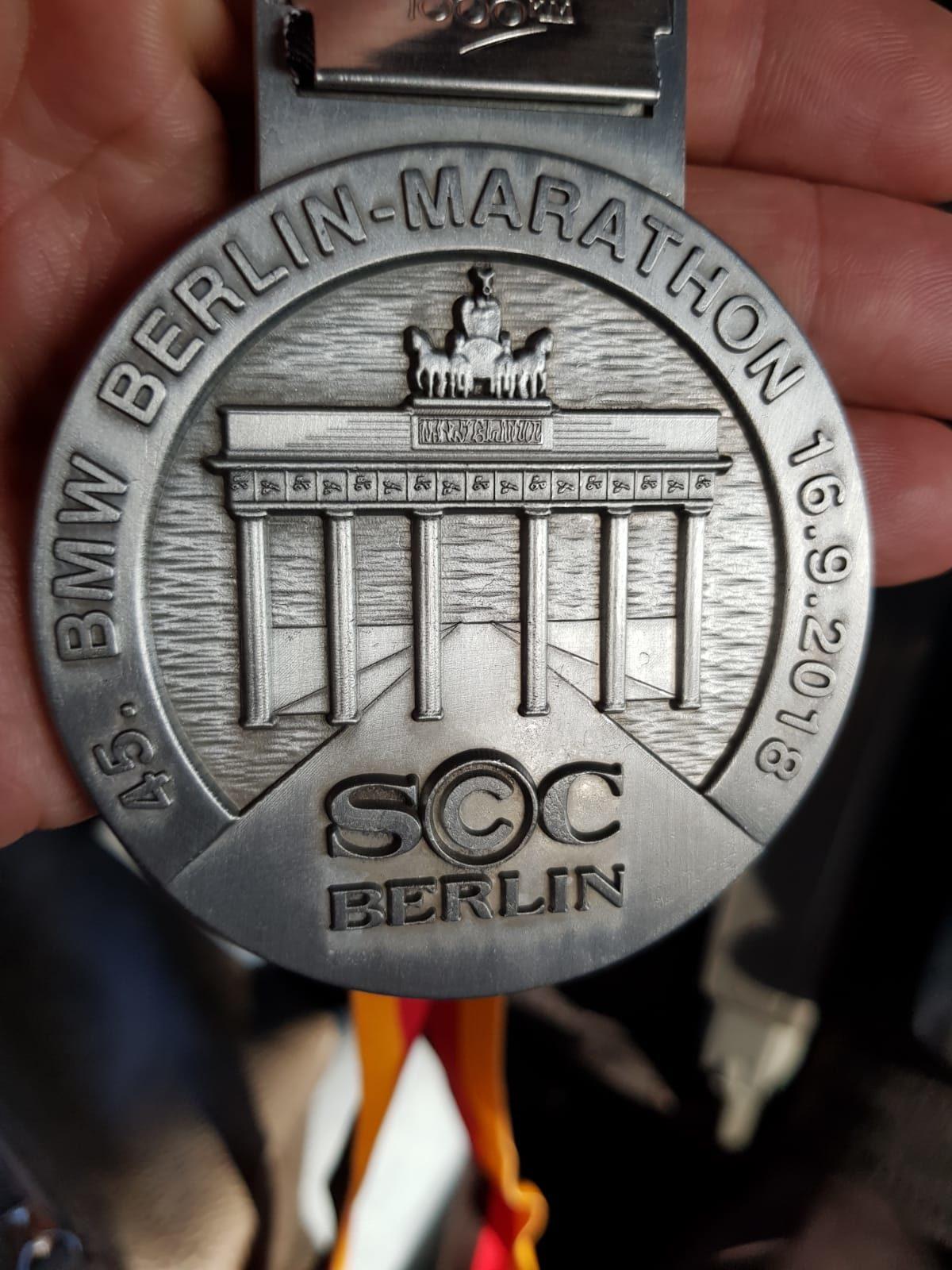16 september 2018 Marathon van Berlijn