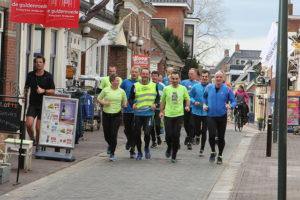 De groep van 6 minuten per km in Loppersum