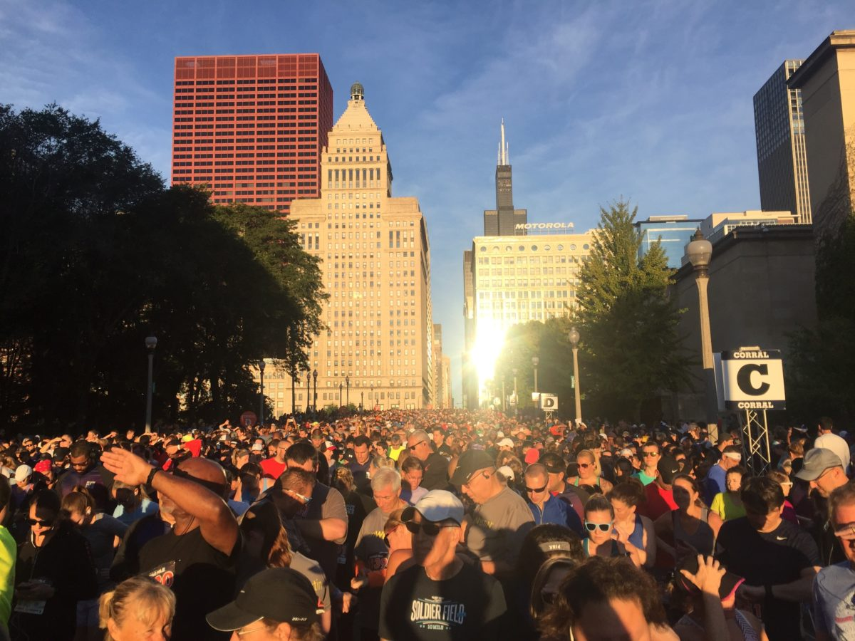 7 september 2019, De Chicago RunMagMile