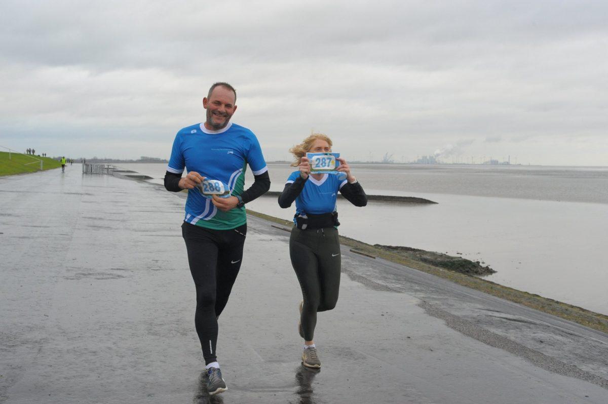21 december 2019, Dijkloop Delfzijl, een dijk van een loop